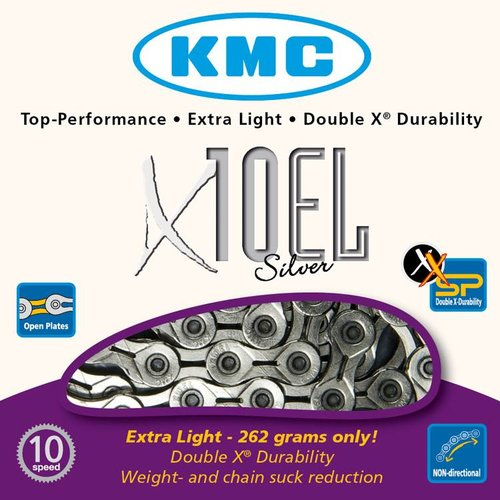 KMC KMC ketting X10EL zilver