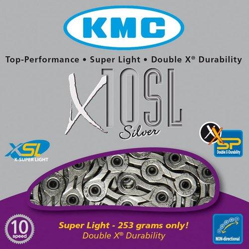 KMC KMC ketting X10 SL zilver