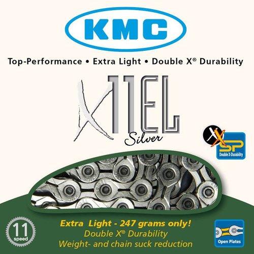 KMC KMC ketting X11EL NPx zilver