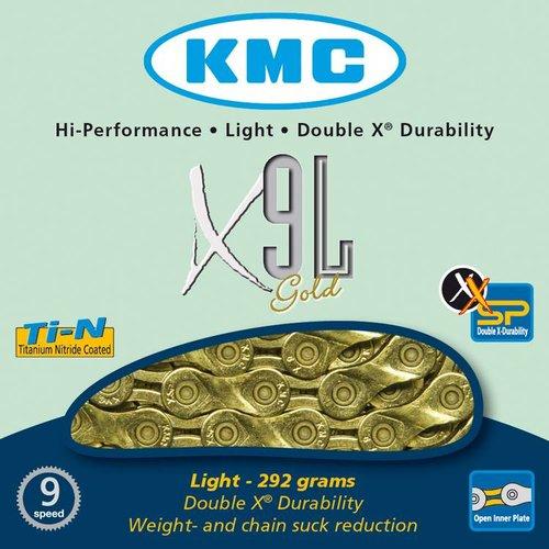 KMC KMC ketting X9L goud