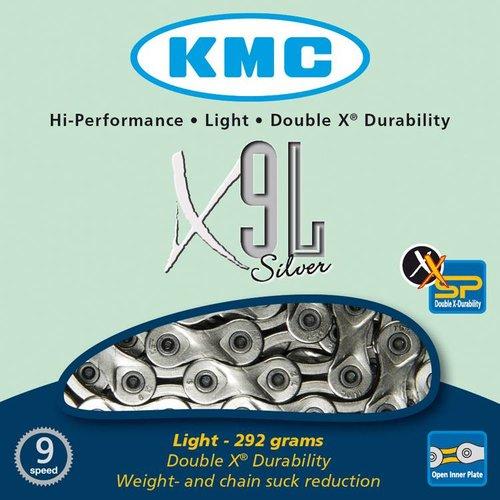 KMC KMC ketting X9L zilver