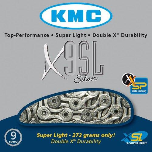 KMC KMC ketting X9 SL zilver