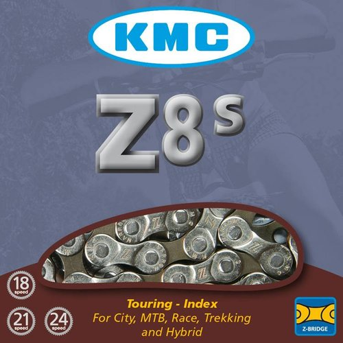 KMC KMC ketting Z8 half zilver