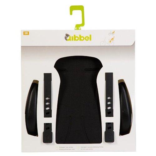 Qibbel stylingset luxe achterzitje zwart