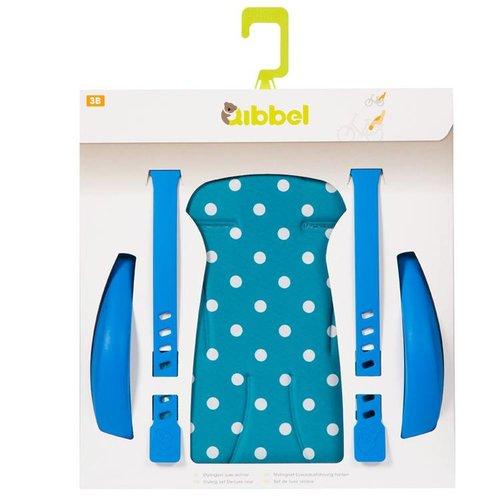Qibbel stylingset achterzitje Polka Dot bl