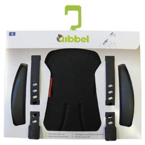 Qibbel stylingset luxe voorzitje uni zwart