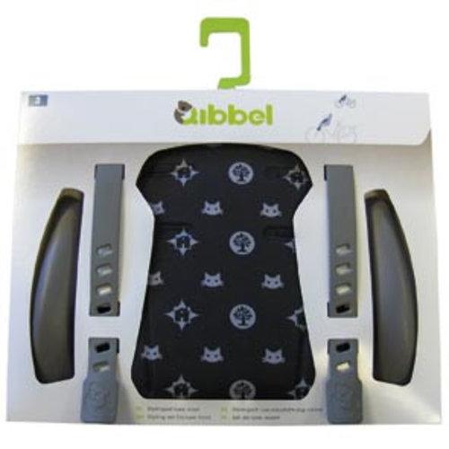 Qibbel stylingset luxe voorzitje fam zwart