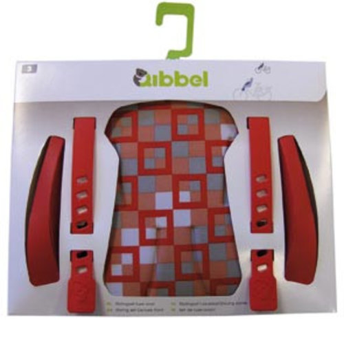 Qibbel stylingset luxe voorzitje rood