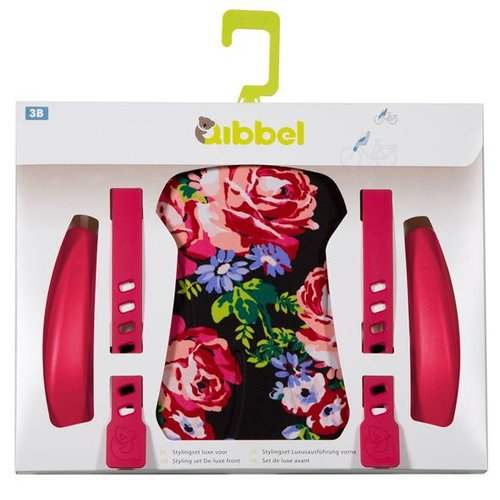 Qibbel stylingset luxe voorzitje Roses zw