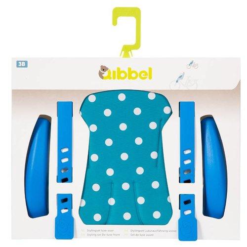 Qibbel stylingset voorzitje Polka Dot bl