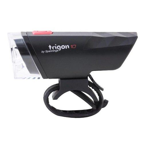 Spanninga Spanninga koplamp Trigon 10 lux zwart