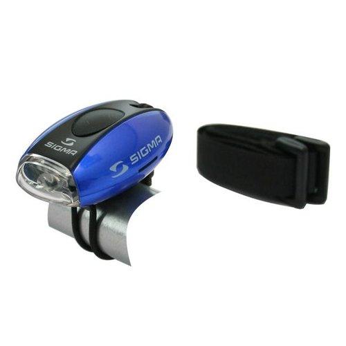 Sigma Sigma koplamp Micro blauw