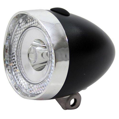 Union  Union koplamp Retro Mini batt zwart