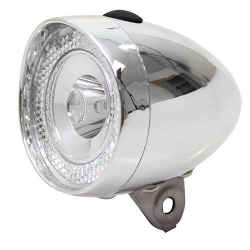 Union  Union koplamp Retro Mini batt chroom