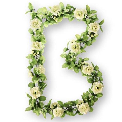 Basil Basil bloemslinger rozen wit