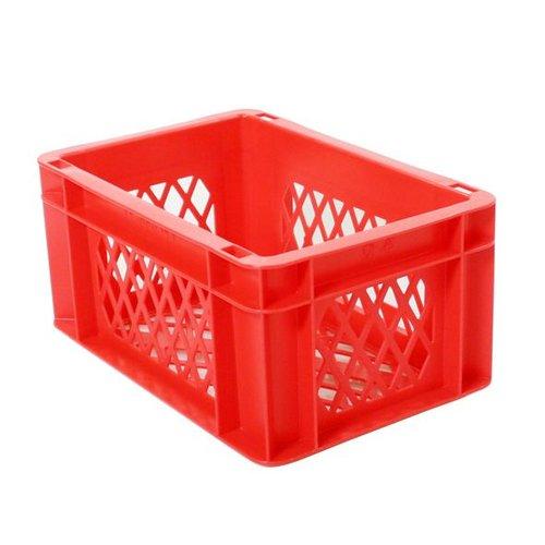 Transport bagage krat mini rood