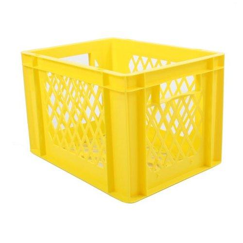 Transport bagage krat geel