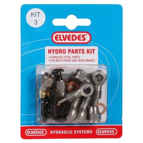 Elvedes hydro onderdelen set 3