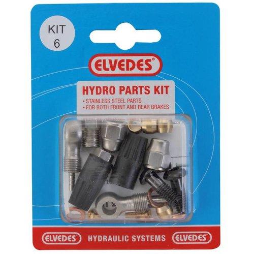 Elvedes hydro onderdelen set 6