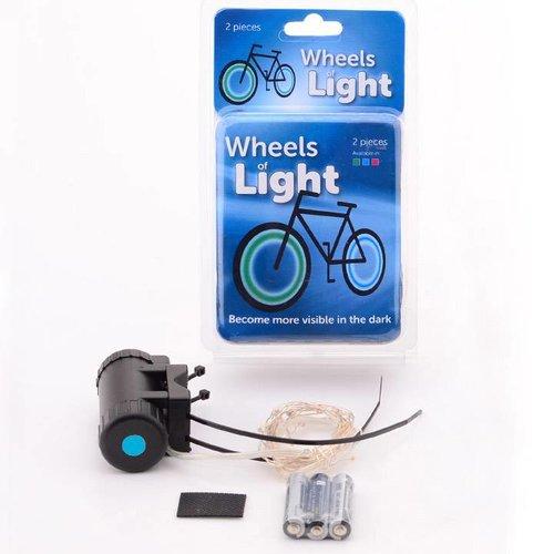 Spaaklichten Wheels Light blauw