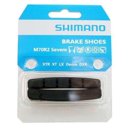 Shimano Shimano remblokrubber v-br M70R2 + 1mm