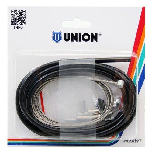 Union  Union compleet kabel rem 2 nipp rvs