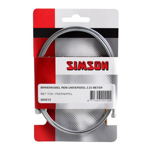 Simson Simson binnenkabel rem uni 2.25m