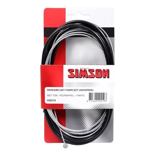 Simson Simson remkabel uni cpl zwart