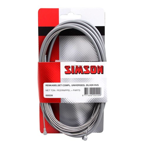 Simson Simson remkabel uni cpl RVS zilver