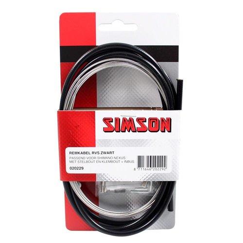 Simson Simson remkabel Nexus RVS zwart