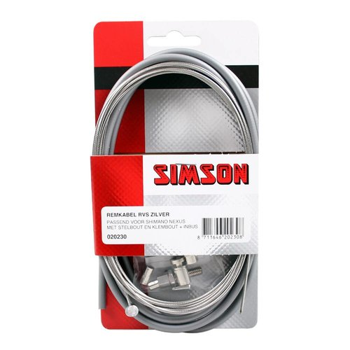 Simson Simson remkabel Nexus RVS zilver