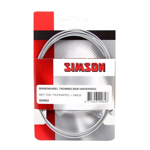 Simson Simson binnenkabel rem 2 nipp uni