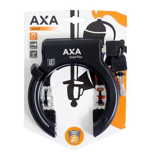 AXA Axa ringslot Solid Plus zwart