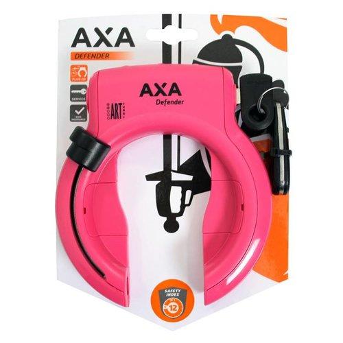 AXA Axa ringslot Defender roze