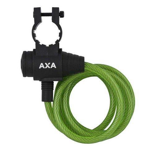 AXA Axa spiraal kabelslot Zipp 120/8 groen