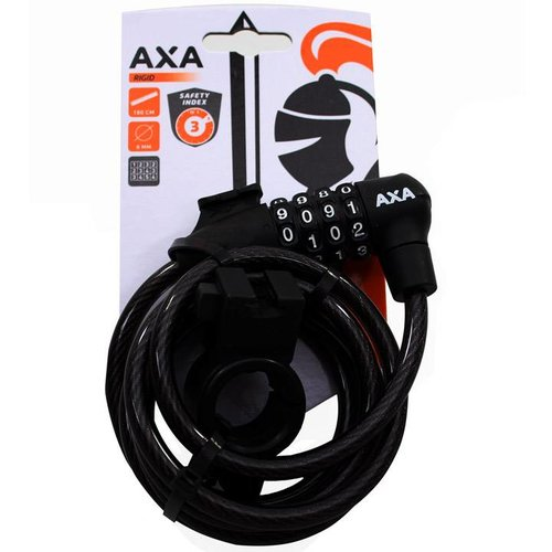 AXA Axa cijfer kettingslot Rigid 180 zwart
