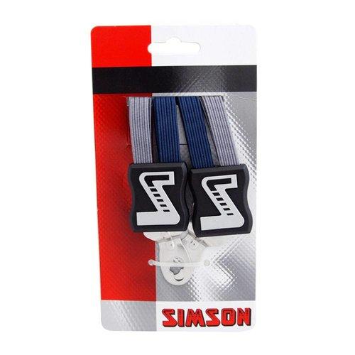 Simson Simson snelbinder strong blauw/grijs