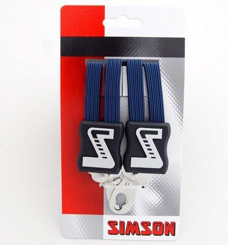 Simson Simson snelbinder lang donkerblauw