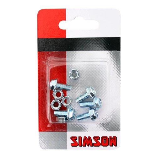 Simson Simson spatbord boutjes M5x12 (5)