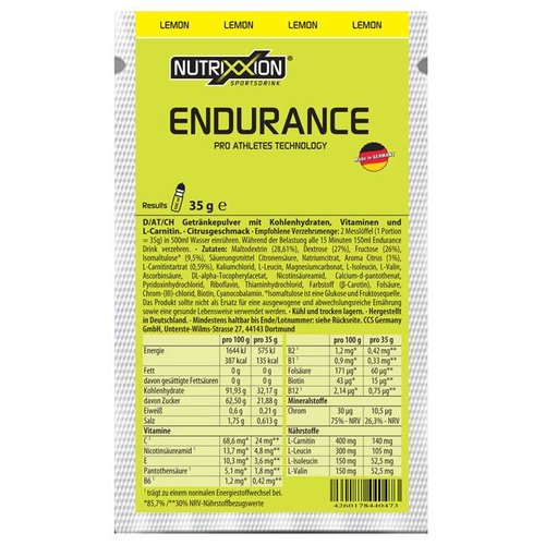 Nutrix sportdrank Lemon 35g