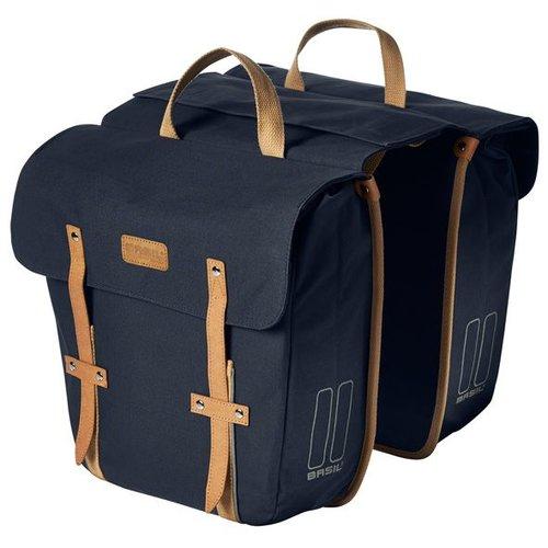 Basil Basil dubbele tas Portland donkerblauw