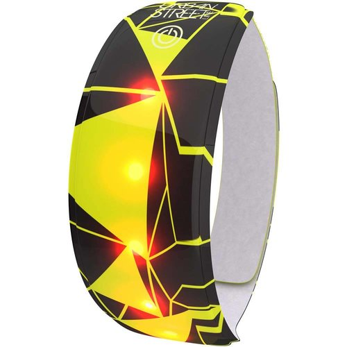 Wowow Lightband Urban geell 3M XL Rode LED