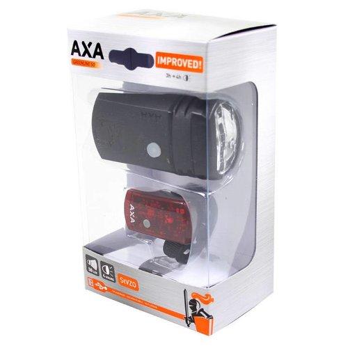 AXA Axa verlichtingsset Greenline 50 Lux Usb