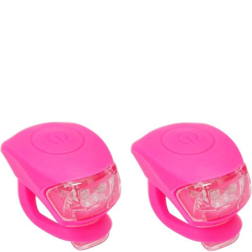 Urban Proof LED Fietslampjes set Pink