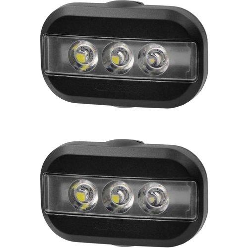 Urban Proof Clip Fietslampjes set Zwart