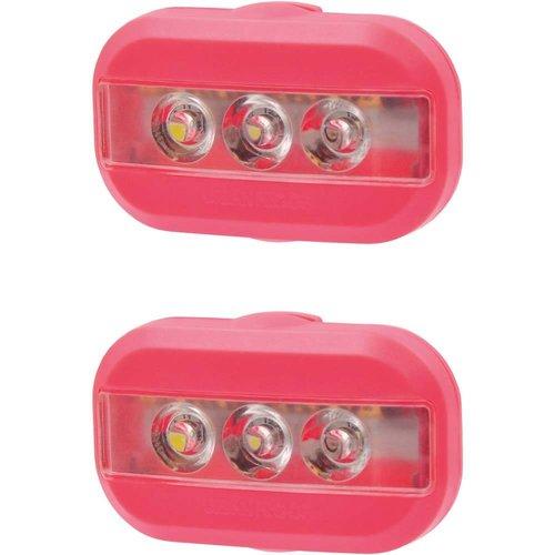 Urban Proof Clip Fietslampjesset rood