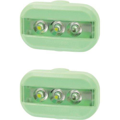 Urban Proof Clip Fietslampjesset groen