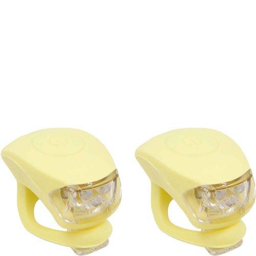 Urban Proof Fietslampjesset Pastel geel