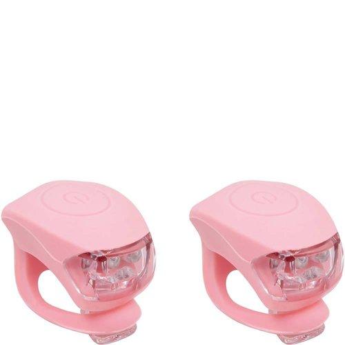 Urban Proof Fietslampjesset Pastel roze
