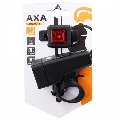 AXA Axa verlichtingsset Niteline T1 batt
